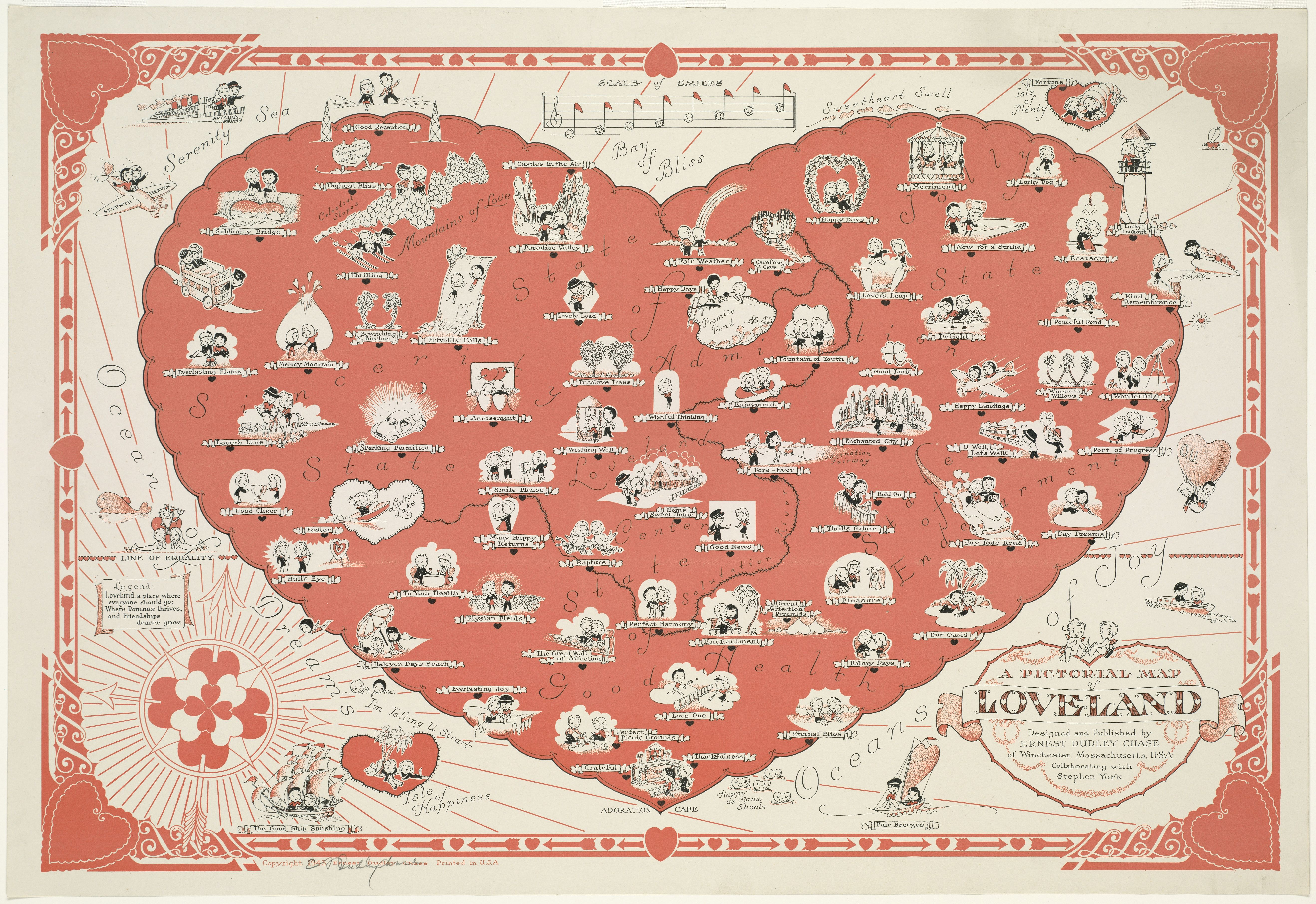 A Pictorial Map Of Loveland Socalgis Org