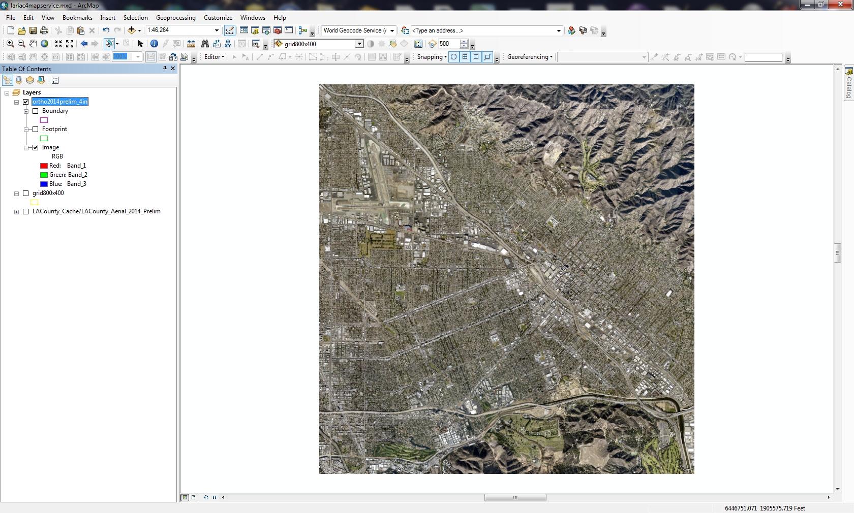 Hacking Web Mercator Map Services | SoCalGIS org
