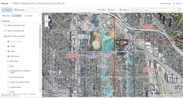 FEMAs National Flood Hazard Layer SoCalGISorg - National flood map